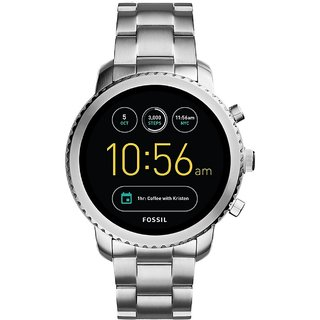 Fossil Explorist Analog-Digital Black Dial Mens Watch-FTW4000