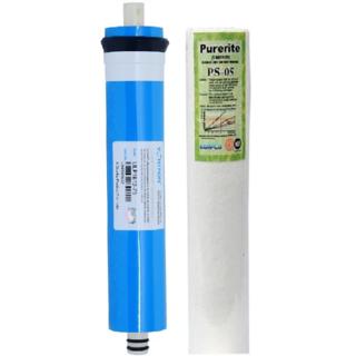 RO Vontron Membrane 75GPD+Spunfilter kemflo for RO Water Purifier