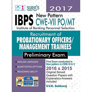IBPS Bank PO Probationary Officers and Management Trainees Exam Book