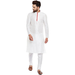 Larwa Men'S Ceremony Kurta Pyjama Set With Button
