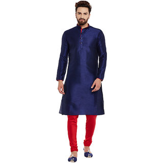 Larwa Men'S Silk Kurta Pyjama Set