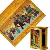 Shoppingtara Buy Gemstone Painted Key Magazine Holder N Get Key Holder Box Free