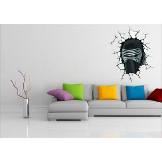 EJA Art Kylo Ren Multicolor Removable Decor Mural Wall Stickers Sticker