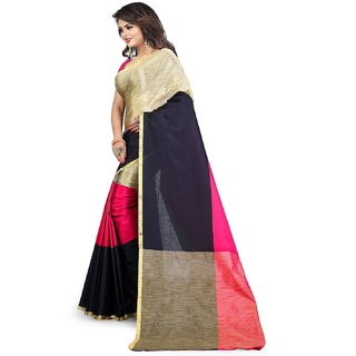 a60becbfed6d40 Buy Aksh Fashion Multicolor COTTAN Art Silk Saree Online - Get 80% Off