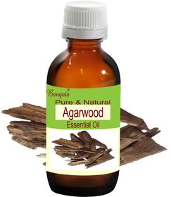 Agarwood Oil - Pure & Natural Essential Oil- (50 ml)