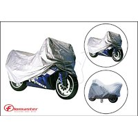 FloMaster- Silver Dust/Wind/Scratch Protection Body Cover Bike/Scooter/Cycle(Fits To All)