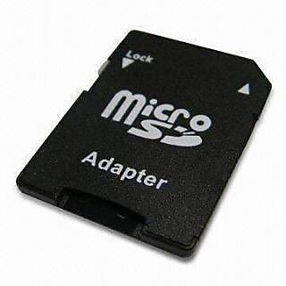 MicroSD to SD ADAPTOR / CONVERTER  2 nos.