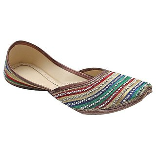 Aryans Women's Multicolor Wedges