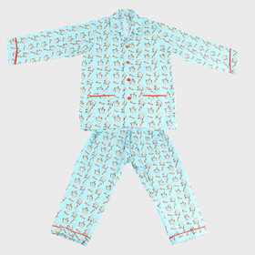 saiballeza boys kid night suit set