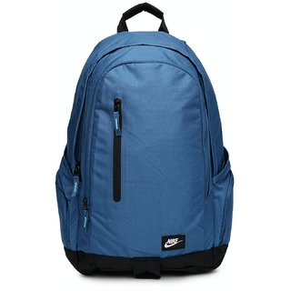 Buy Nike Blue Casual Polyester Backpack Online   ₹3295 from ShopClues e4bddfac38a3b