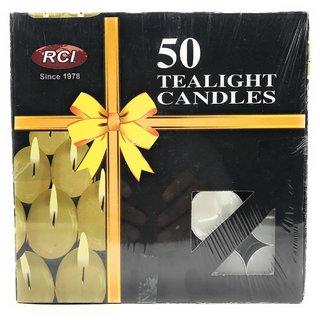 AuraDecor Pure Paraffin Wax Smokeless Multi purposes Tea Light Candles (Burning Time 3 hours, Set of 100)