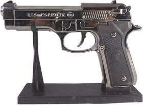 cigarette lighter mouser gun silver