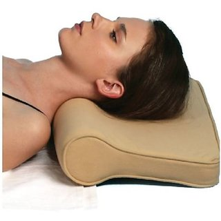 bHUMI Regular Use Cervical Pillow Neck Traction Pillow With Memory Foam
