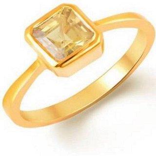Yellow Sapphire Pukhraj Ring Jaipur Gemstone