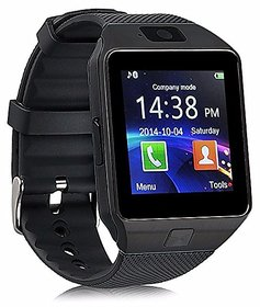 DZ09 Bluetooth Smartwatch With Camera/Sim Support-Black