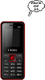 Set Of 25, I Kall K20( Dual Sim, 1.8Inch, BIS Certified