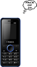 Set Of 25, I Kall K24( Dual Sim, 1.8Inch, BIS Certified