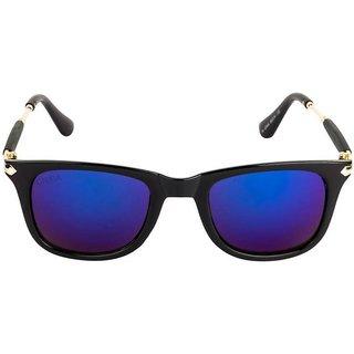Aligator Multicolor UV Protection Square Unisex Sunglasses