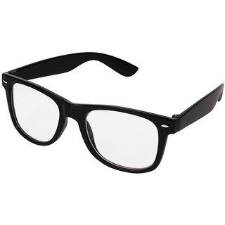 Aligator Black UV Protection Wayfarer Unisex Sunglasses