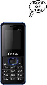 Set Of 100, I Kall K25( Dual Sim, 1.8Inch, BIS Certifie