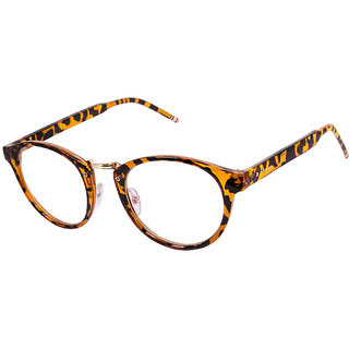 Cardon Tortoise Brown Round Full Rim Eyeglass