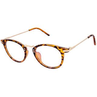 Cardon Tortoise Brown Round Full Rim Eyeglass
