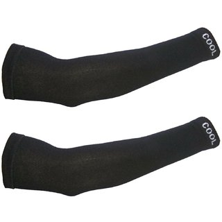 EquatorZone Cool Sports Arm Sleeves, Bike Riding Sun Tann Protective Sleeves (Pack of 1 Pair )