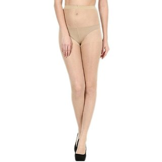 EquatorZone Best Selling High-Demand Transparent Beige Pantyhose / Stockings (Pack of 1)