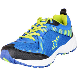 Sparx Mens Blue Green Mesh Sports Running Shoes
