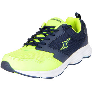 Sparx Mens Green Blue Mesh Sports Running Shoes