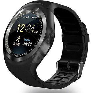 Smartwatch Circular Dial Fitness Band and activity tracker, enables Apps  like Facebook and WhatsApp Touch Screen