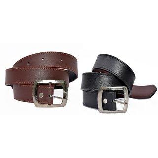 Furnishing Zone BlackBrown Belt Pack of 2