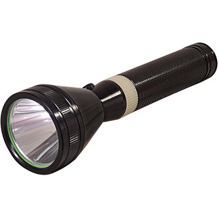 GOR Sun Invigilator 600M 3 Mode Rechargeable LED Flashlight Torch 8.6 Inch