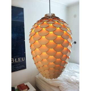 reptum decor - Modern Ceiling Light wooden Pendant Chandelier
