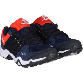301f7b24327 Buy Lancer Navy Blue Red Shoes Online - Get 10% Off