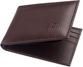 Unique Collections Brown Leatherite Bi-Fold Wallet For Men (Spr-02)