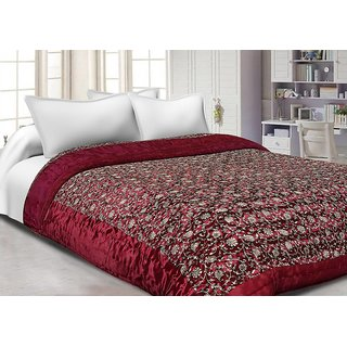 New Collection Of Fashion Fab Enterprises Cotton Double Quilt - Multicolor