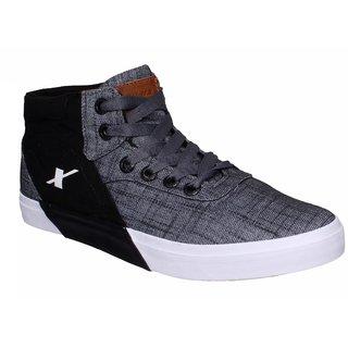 Sparx Men SM-360 Grey Black Casual Shoes