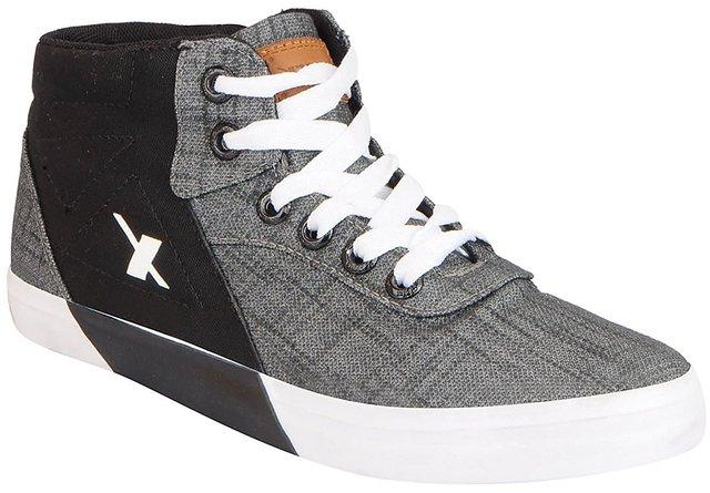 Buy Sparx Men SM-360 Grey Black Casual