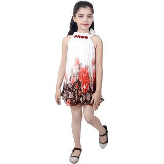 KBKIDSWEAR Girl's Party-Wear Premium Net Frock
