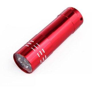 5 Photos Mini LED UV Gel Lamp Light Nail Dryer Flashlight Torch For Nail Polish Manicure