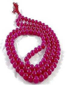 Ruby Mala Stone Manik Real Burma Ruby Natural Jaipur Gemstone