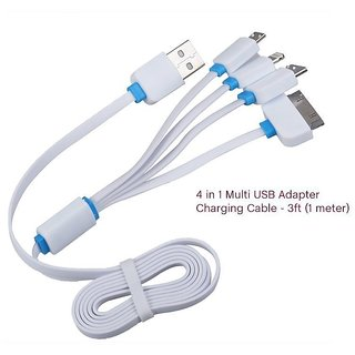 4 In 1 Data Sync and Charging Cable