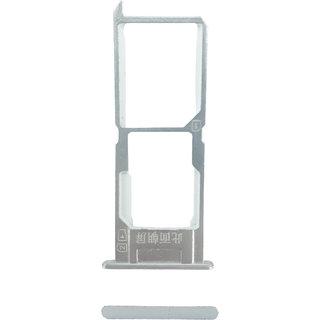 New Sim Tray Holder For VIVO Y37 - Silver Colour