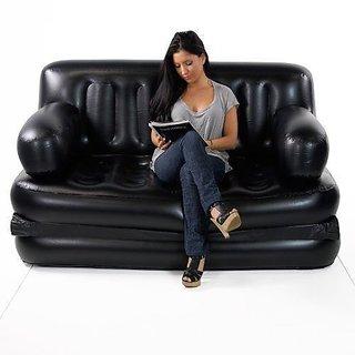 Its 5 in 1 air sofa bed. Air pump free The air bed.