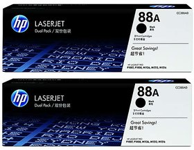 HP LaserJet Toner Cartridges CC388A 2 Pack