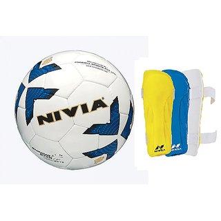COMBO SHINNING STAR FOOTBALL + VERTIX SHIN GUARD