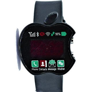 Apple Shape LED Watch BK