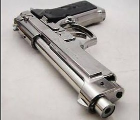 Ciggratte gun lighter moser stytle silver color