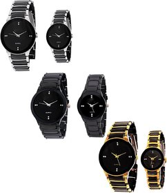 KK IIK COLLECTION Couple Combo Analog Watch - For Men